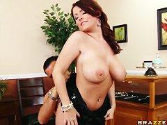 Проститутка Элис Доминикана с клиентом делает все что угодно